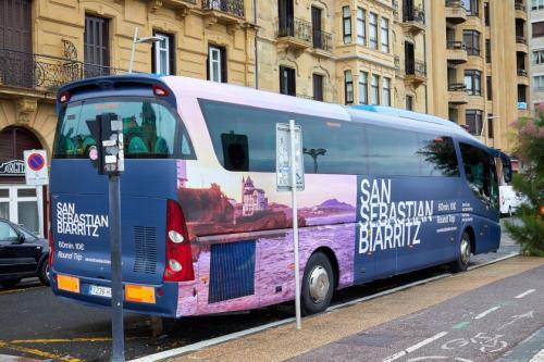 Donostia-Biarritz autobusa irisgarria ez dela salatu du elkartuk
