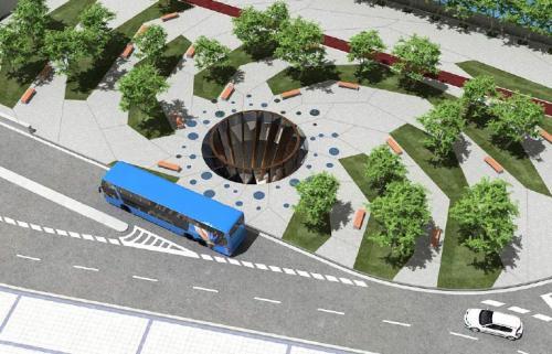 elkartuk helegitea aurkezten du Atotxako autobus geltokiaren jarduera Proiektua onartzen duen erabakiaren aurka